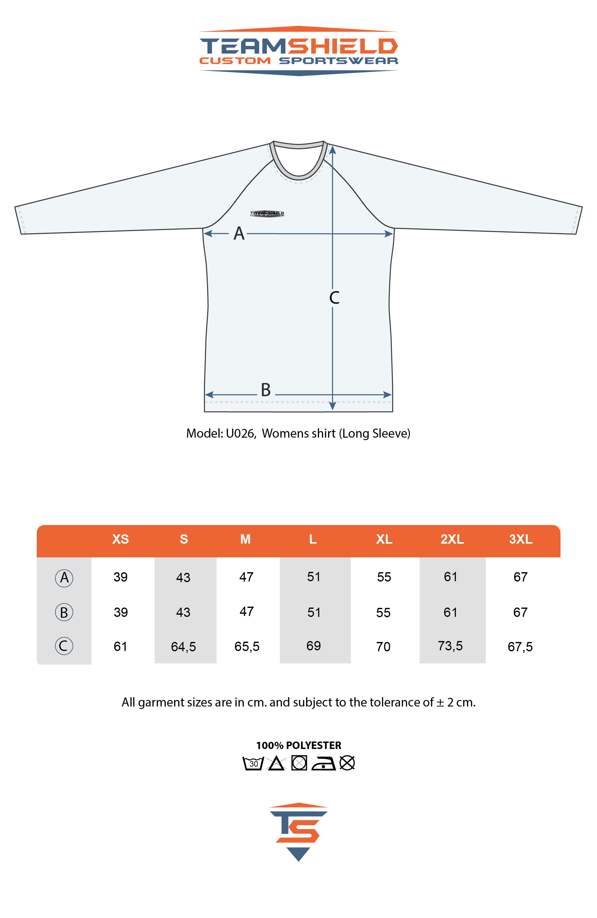 Teamshield-Custom-Teamwear-Sizechart-U026-Sublimation-Shirt-Rekular-Fil-Long-Sleeve